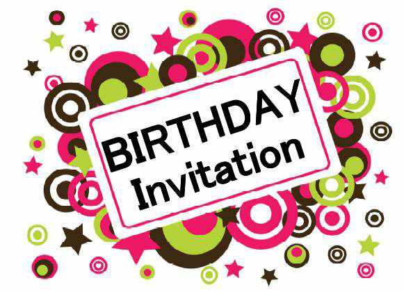 Birthday Invitation Printable Templates Free - ClipArt Best - ClipArt Best