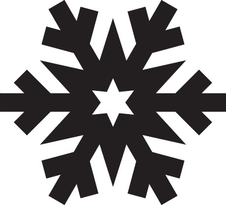 snowflake silhouette clipart best Country Snowman Family Clip Art Country Snowman Family Clip Art