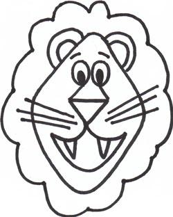 Animals cartoon drawing lion - photo#53