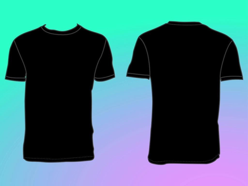 blank shirt template clipart best. Black Bedroom Furniture Sets. Home Design Ideas