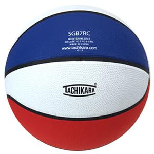tachikara regulation tri color rubber basketballs