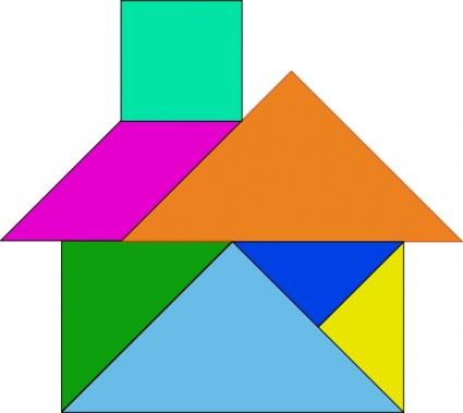 Tangram-26 clip art - Download free Other vectors