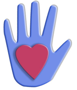 free clipart hearts and hands