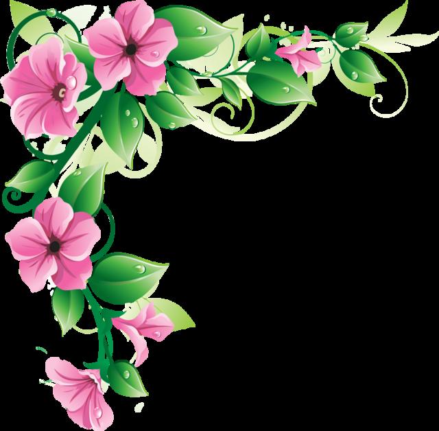 Flower Border Png Clipart Best