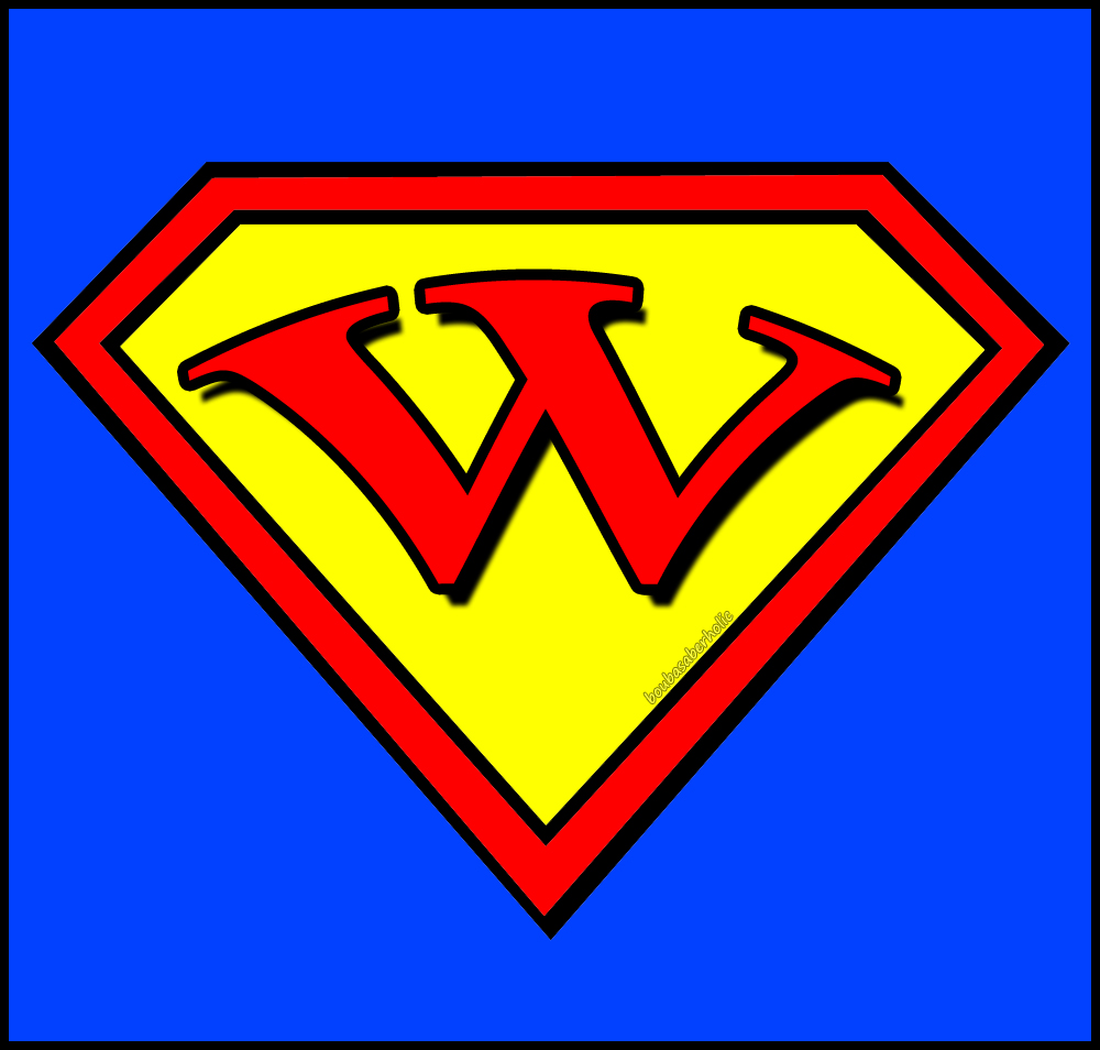 Superman Letters | Free Download Clip Art | Free Clip Art | on ...