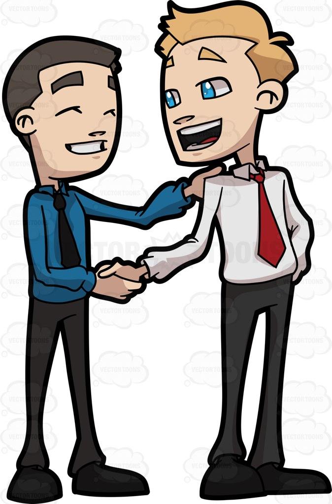 Friends Shaking Hands Clip Art - fedinvestonline