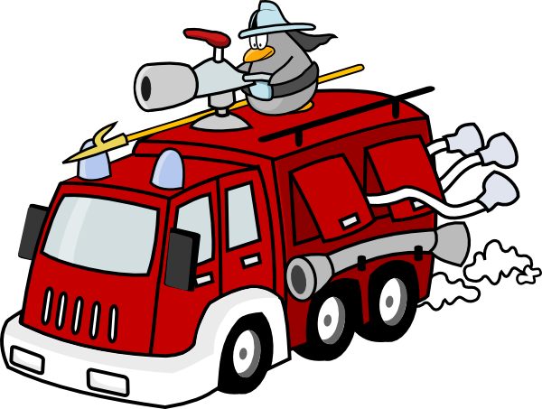 clip art of fire station - photo #25