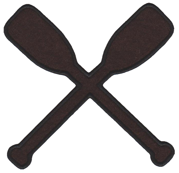 Crossed Oars Logo Crossed Oars Logo Clipart