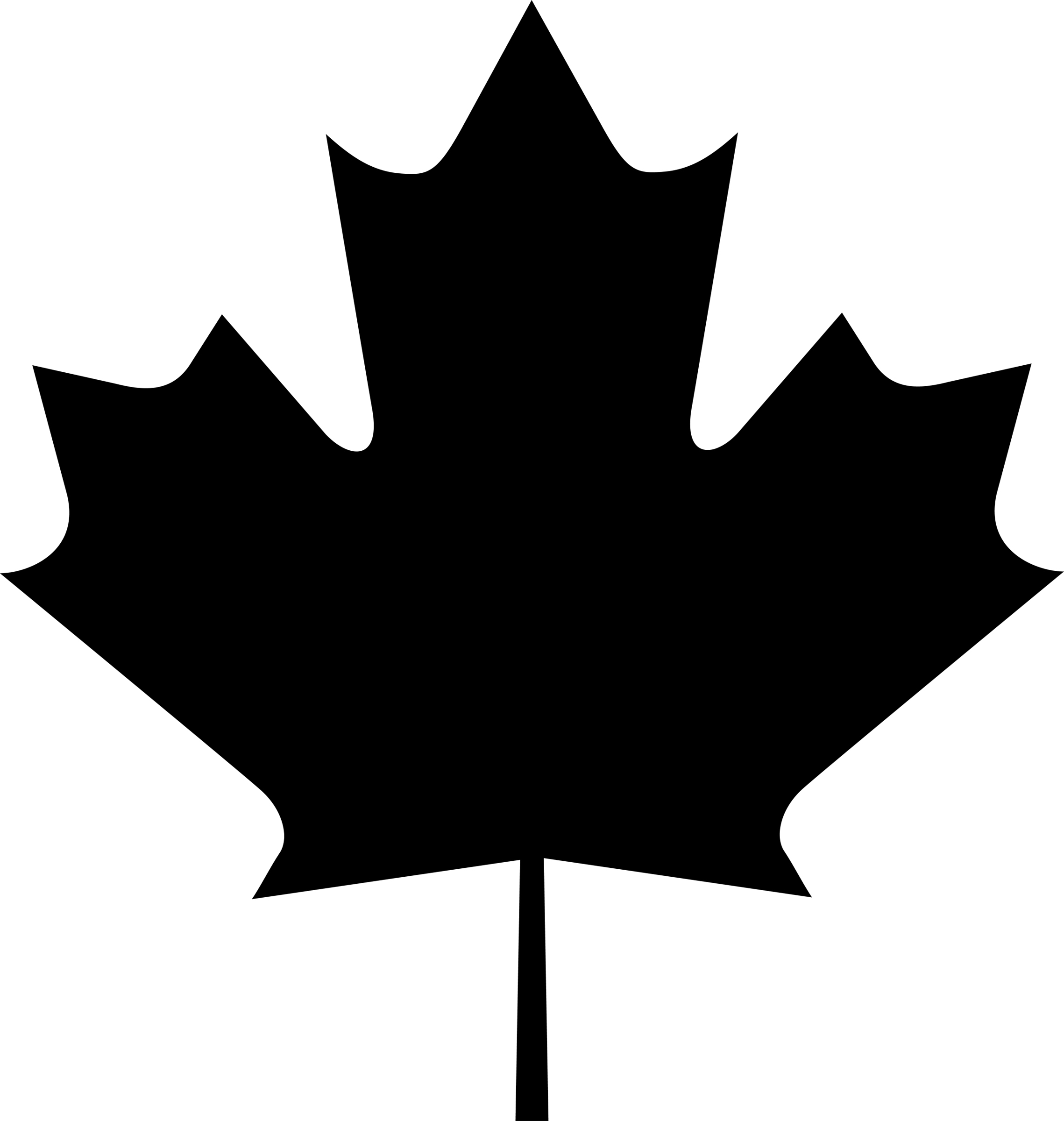 Canadian Maple Leaf Png ClipArt Best