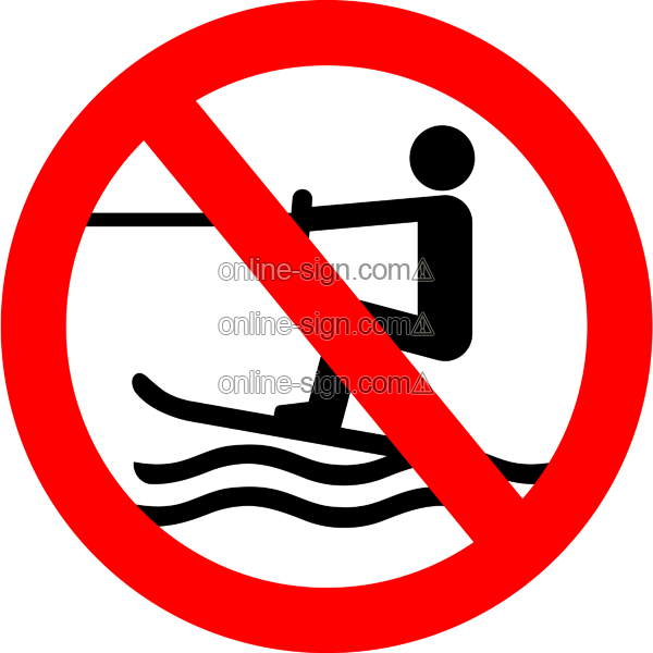 No Water Sign - ClipArt Best