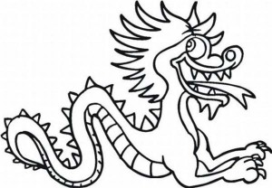 Chinese New Year Greeting Card Coloring Page - Free ...