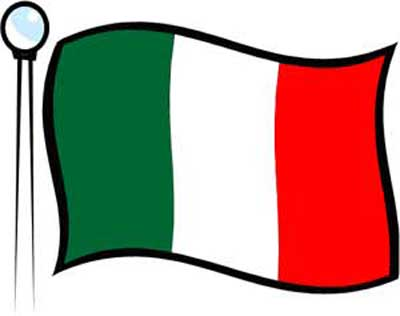 Italian Flag | Free Download Clip Art | Free Clip Art | on Clipart ...
