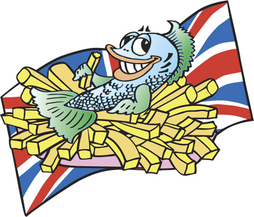 Fish And Chips Clip Art - ClipArt Best