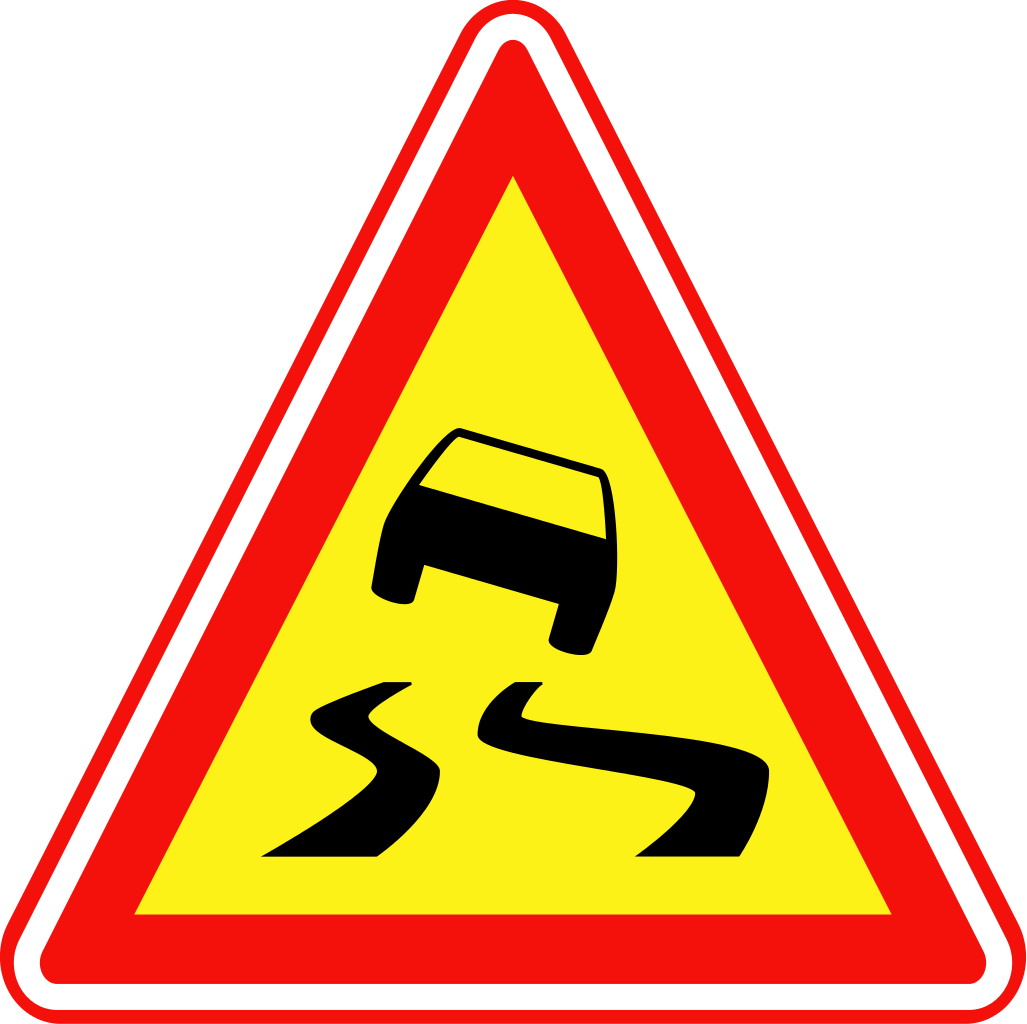 Slippery Road - ClipArt Best