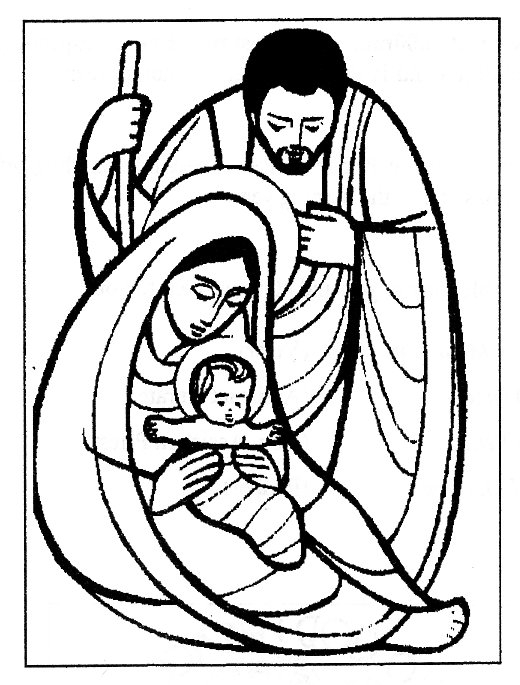 Holy Family Clipart - ClipArt Best