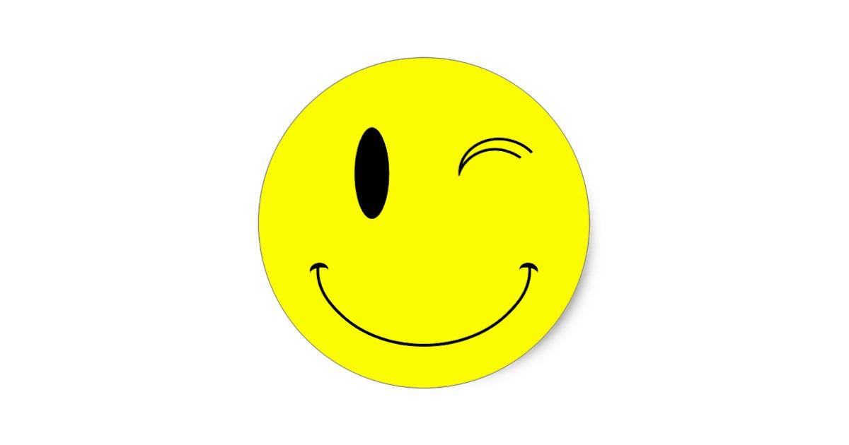 wink face clip art - 1200×630