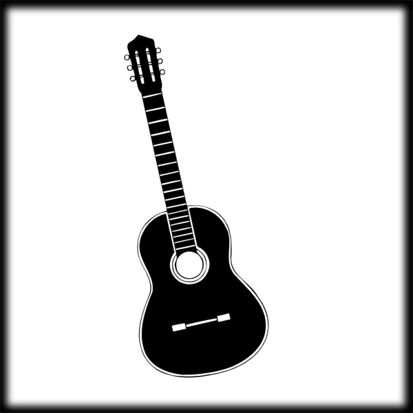 acoustic guitar clip art black and white clipart best acoustic guitars clipart images acoustic guitar clip art logos