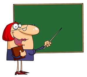 Female Science Teacher Clipart Lady Teacherclip Art -...