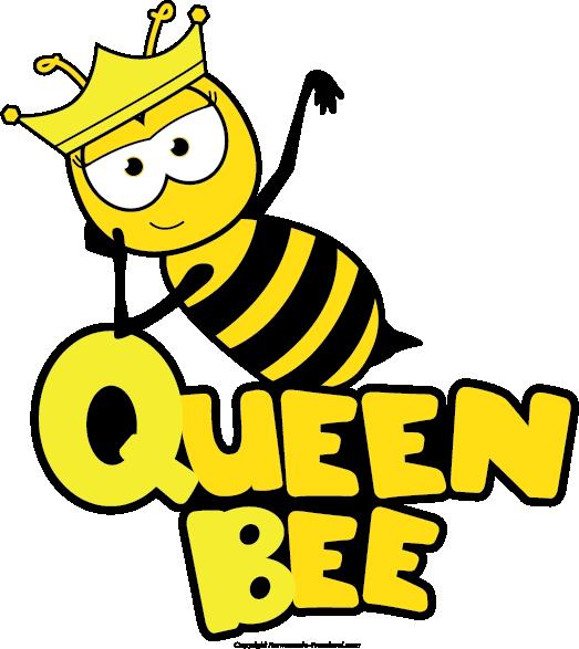Queen Bee Cartoon Queen Honey Bee Clipart