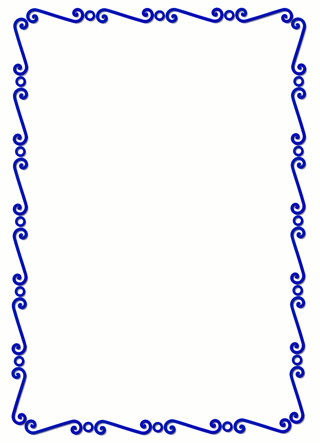 Simple Page Border - ClipArt Best