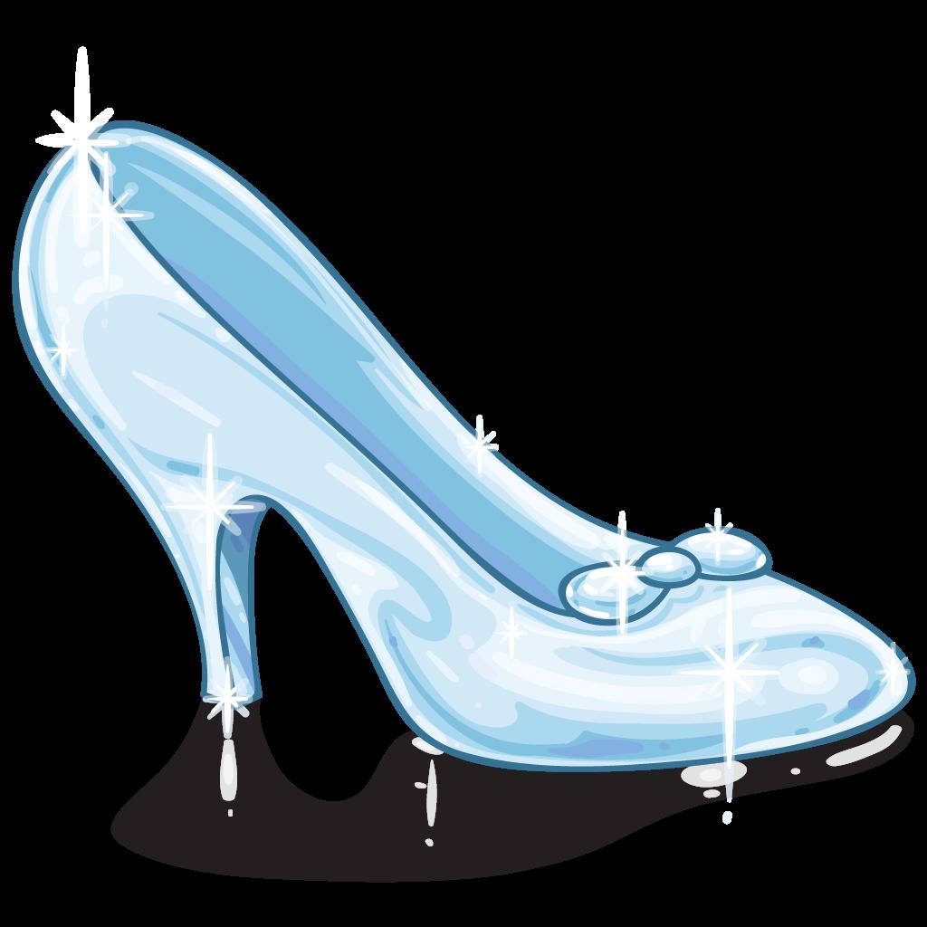 Glass Slipper Clip Art - ClipArt Best