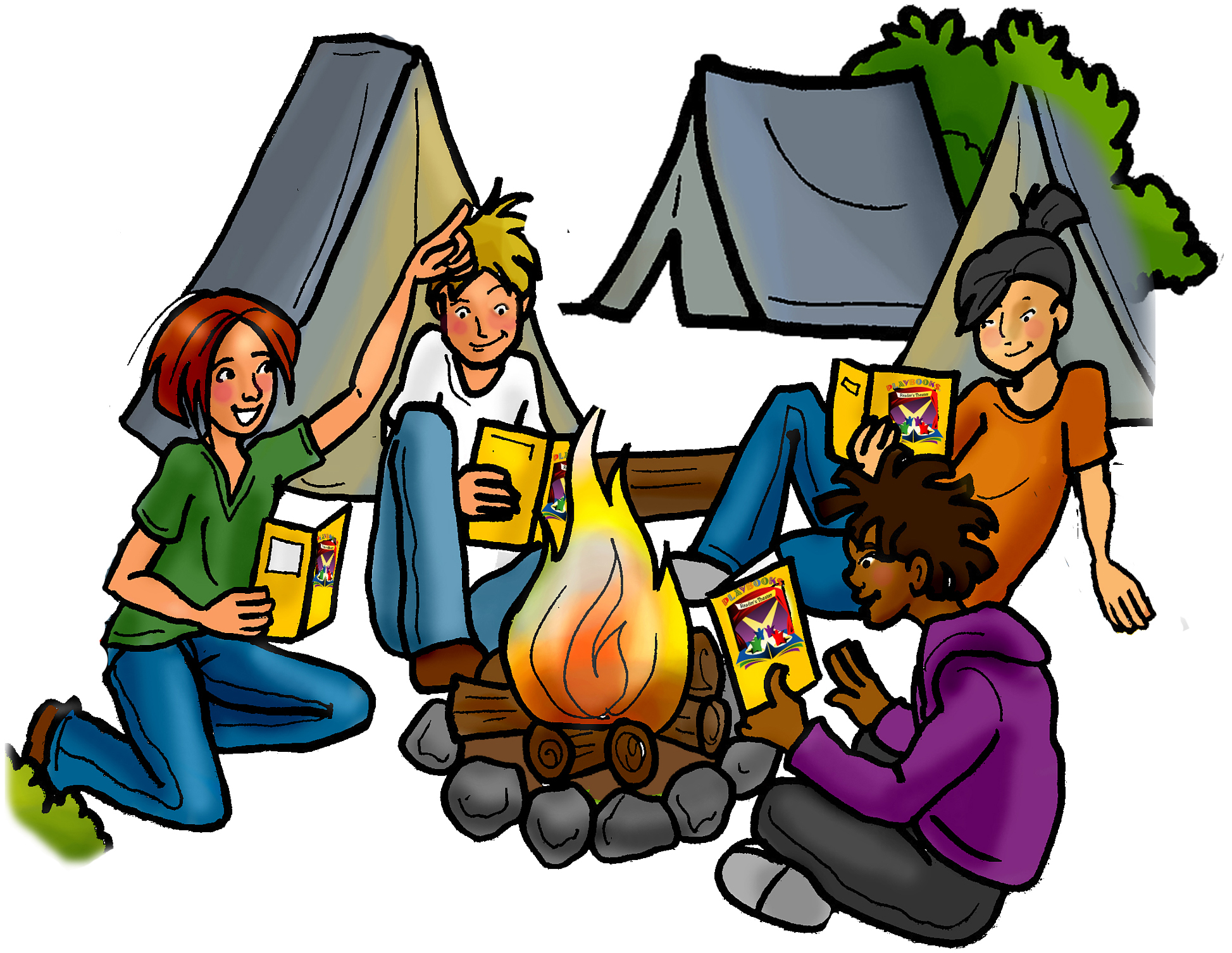 kpm camping out digital clipart by kpmdoodles on etsy