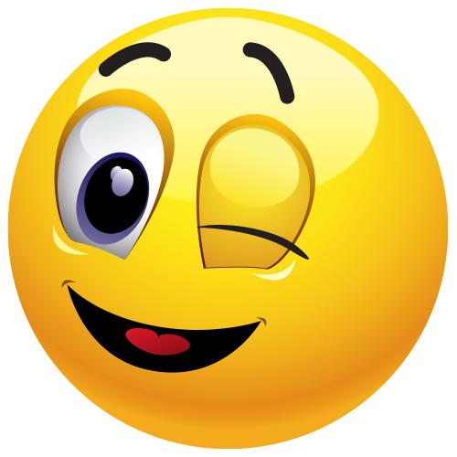 Winking Emoticon - Facebook Symbols and Chat Emoticons ...