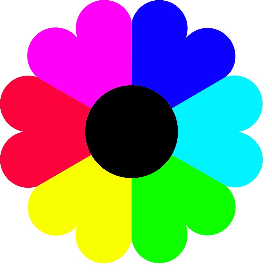 Colorful Flowers Clipart - ClipArt Best