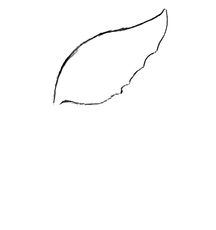 Simple Wing Drawing How to Draw a Simple Heart