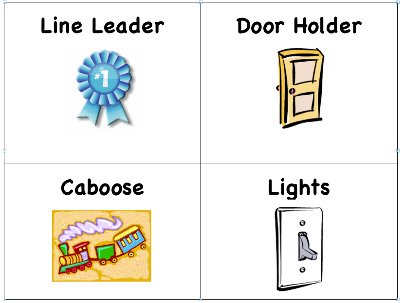 kindergarten clipart classroom jobs - photo #14