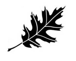 Oak Leaf Stencil - ClipArt Best