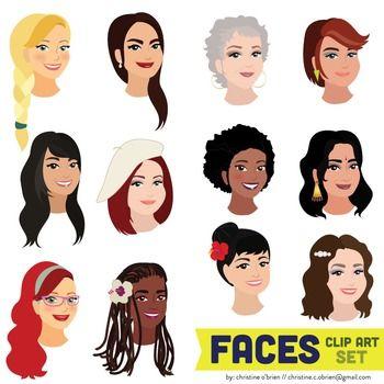 Human Face Clip Art Clipart Best