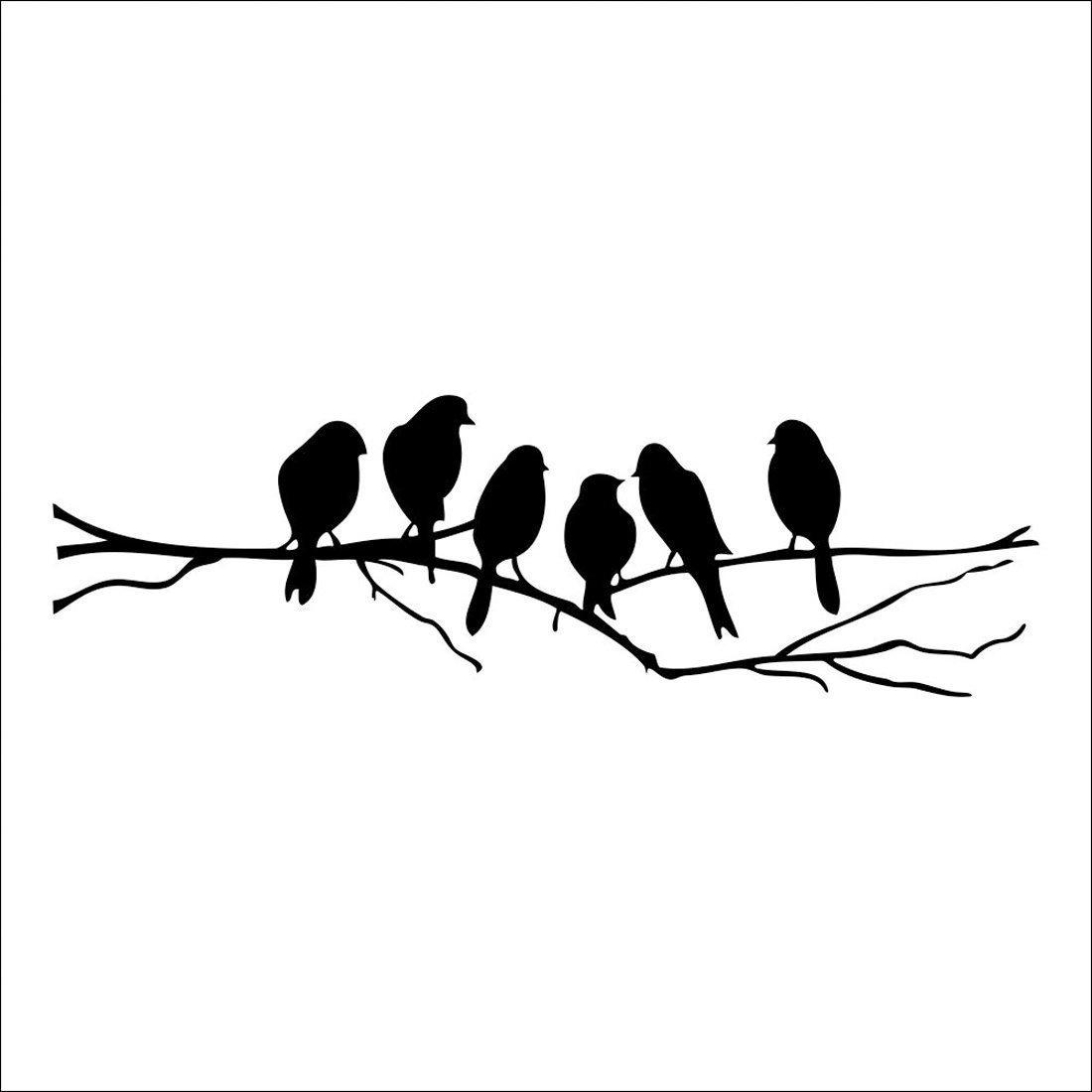 Lovebird clipart silhouette