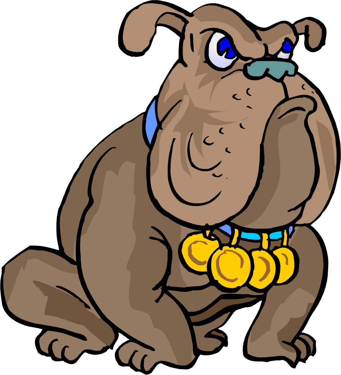 cartoon bulldogs