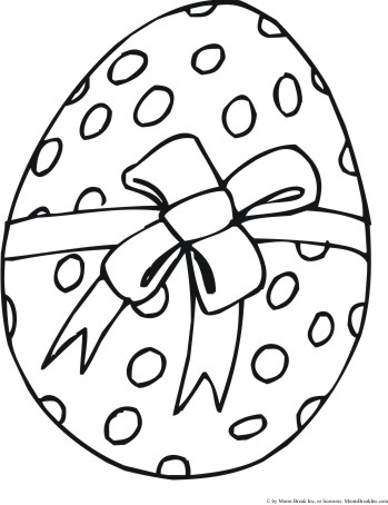 aster eggs to colour clipart best