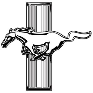 Mustang Logo Vector - ClipArt Best