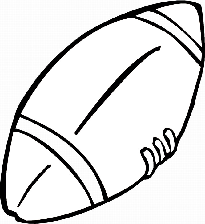 Free Football Coloring Sheets - ClipArt Best