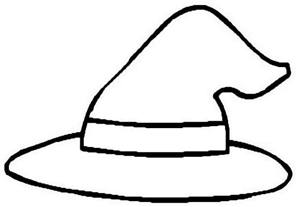 Witch Hat Coloring Page - ClipArt Best - ClipArt Best
