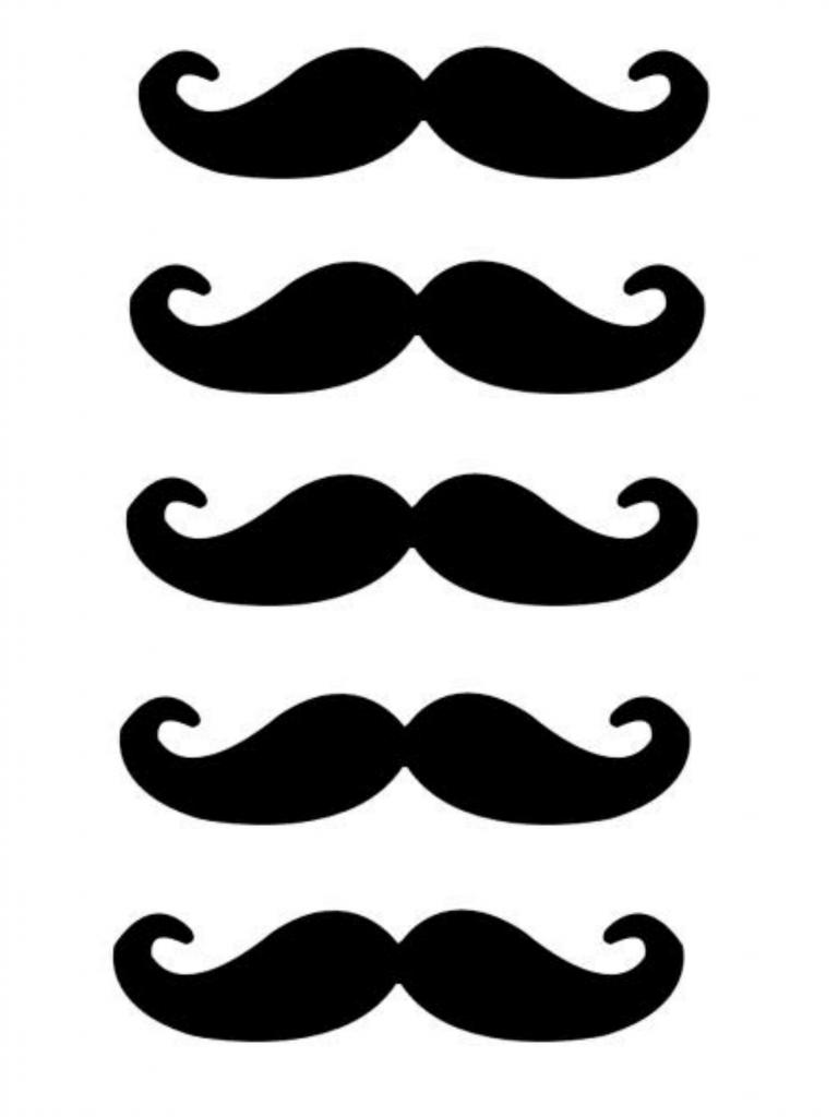 Free Lip and Mustache Printables: Photo Booth Props - Fox Hollow ...