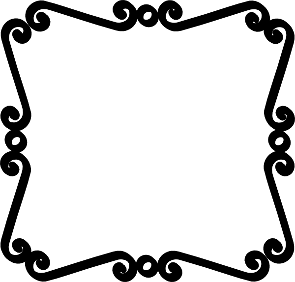 Black And White Scroll Border clip art - vector clip art online ...: www.clipartbest.com/black-and-white-page-border