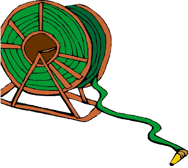 clipart fire hose reel - photo #7