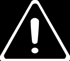 warning signs clip art   clipart best