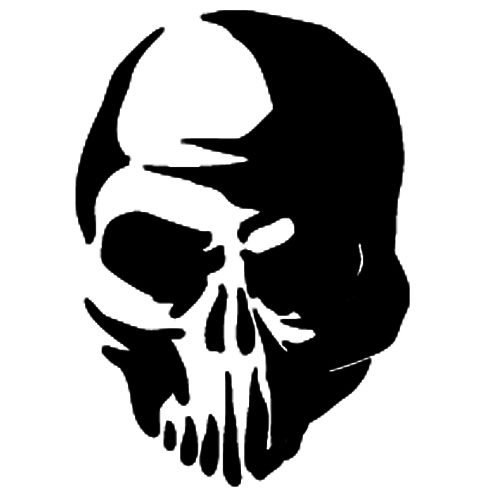Scary Skull Silhouette Pictures to Pin on Pinterest ...
