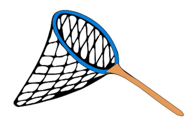 Fishing net clip art clipart best for Kids fishing nets