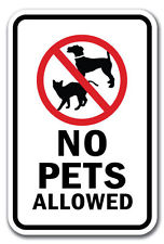 Shocking image for no pets allowed sign free printable