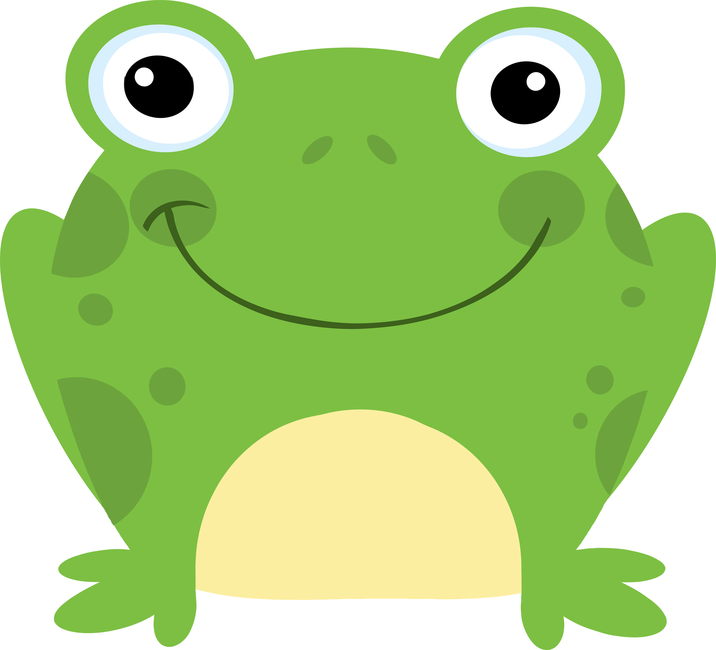 Cartoon frog - photo#4