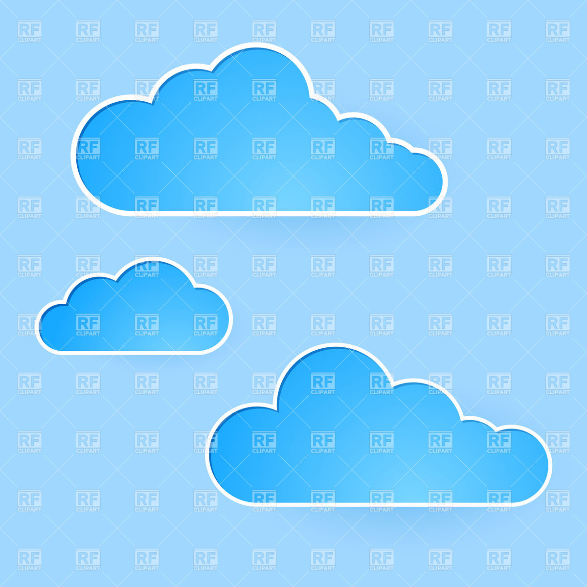Cartoon sky with simple clouds, Backgrounds, Textures, Abstract ...: www.clipartbest.com/sky-cartoon
