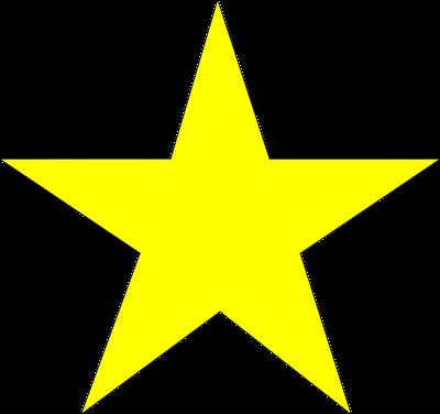 ... Yellow Star Stars Png Transparent Background Frame Border Deco Nenaio