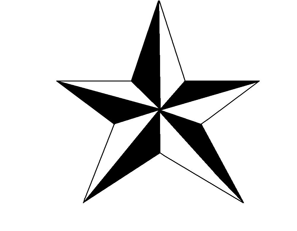 Line Drawing Star : Nautical star images clipart best