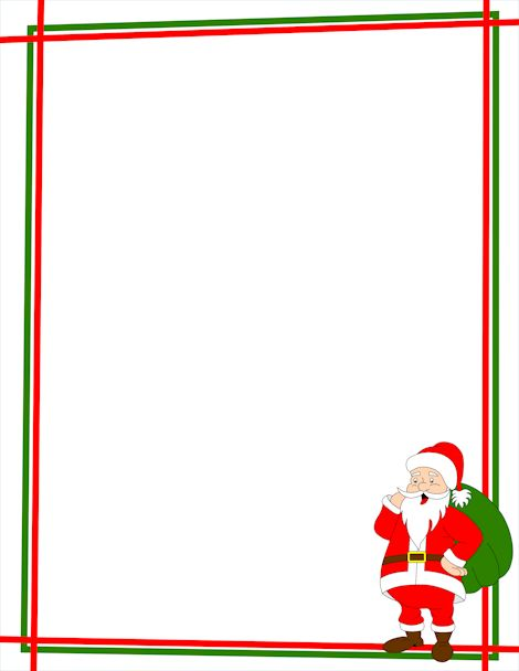 Christmas Page Borders Microsoft Word - ClipArt Best